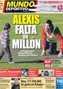Portada Mundo Deportivo del 17 de Julio de 2011