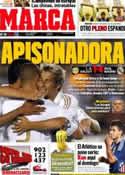 Portada diario Marca del 18 de Julio de 2011
