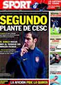 Portada diario Sport del 18 de Julio de 2011