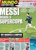 Portada Mundo Deportivo del 18 de Julio de 2011