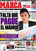 Portada diario Marca del 19 de Julio de 2011