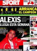 Portada diario Sport del 19 de Julio de 2011