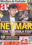 Portada diario AS del 20 de Julio de 2011