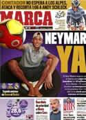 Portada diario Marca del 20 de Julio de 2011