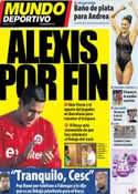 Portada Mundo Deportivo del 21 de Julio de 2011