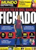 Portada Mundo Deportivo del 22 de Julio de 2011