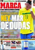 Portada diario Marca del 23 de Julio de 2011