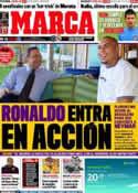 Portada diario Marca del 24 de Julio de 2011