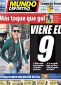 Portada Mundo Deportivo del 24 de Julio de 2011