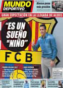Portada Mundo Deportivo del 25 de Julio de 2011