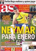 Portada diario AS del 26 de Julio de 2011