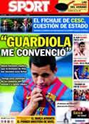 Portada diario Sport del 26 de Julio de 2011