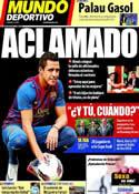 Portada Mundo Deportivo del 26 de Julio de 2011