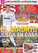 Portada diario AS del 27 de Julio de 2011