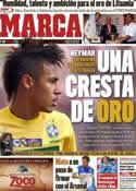 Portada diario Marca del 27 de Julio de 2011