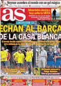 Portada diario AS del 29 de Julio de 2011