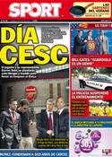 Portada diario Sport del 29 de Julio de 2011