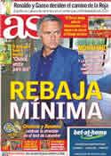 Portada diario AS del 30 de Julio de 2011