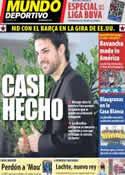 Portada Mundo Deportivo del 30 de Julio de 2011