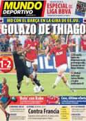 Portada Mundo Deportivo del 31 de Julio de 2011