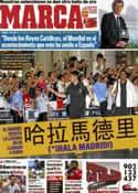 Portada diario Marca del 1 de Agosto de 2011