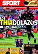 Portada diario Sport del 1 de Agosto de 2011