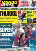 Portada Mundo Deportivo del 1 de Agosto de 2011