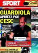 Portada diario Sport del 2 de Agosto de 2011