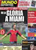 Portada Mundo Deportivo del 2 de Agosto de 2011