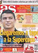 Portada diario AS del 3 de Agosto de 2011
