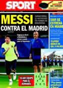 Portada diario Sport del 3 de Agosto de 2011