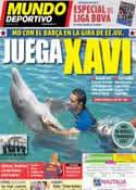 Portada Mundo Deportivo del 3 de Agosto de 2011