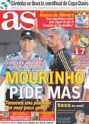 Portada diario AS del 4 de Agosto de 2011