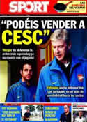 Portada diario Sport del 4 de Agosto de 2011