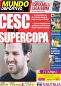Portada Mundo Deportivo del 4 de Agosto de 2011