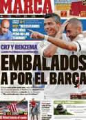 Portada diario Marca del 5 de Agosto de 2011