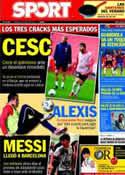 Portada diario Sport del 5 de Agosto de 2011