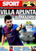 Portada diario Sport del 7 de Agosto de 2011