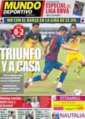 Portada Mundo Deportivo del 7 de Agosto de 2011
