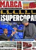 Portada diario Marca del 8 de Agosto de 2011