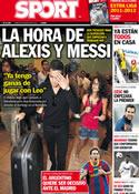 Portada diario Sport del 8 de Agosto de 2011
