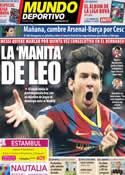 Portada Mundo Deportivo del 8 de Agosto de 2011