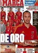 Portada diario Marca del 9 de Agosto de 2011