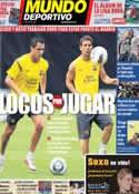 Portada Mundo Deportivo del 9 de Agosto de 2011