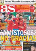 Portada diario AS del 11 de Agosto de 2011