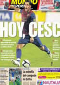 Portada Mundo Deportivo del 11 de Agosto de 2011