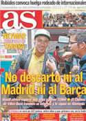 Portada diario AS del 12 de Agosto de 2011