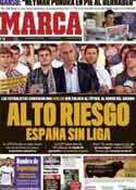 Portada diario Marca del 12 de Agosto de 2011
