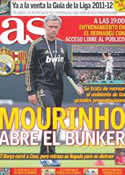 Portada diario AS del 13 de Agosto de 2011