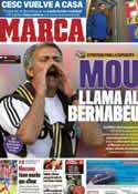 Portada diario Marca del 13 de Agosto de 2011
